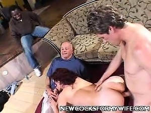 Housewife Scarlet Cock Spooned