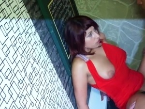 Real European Learner dancing upskirt