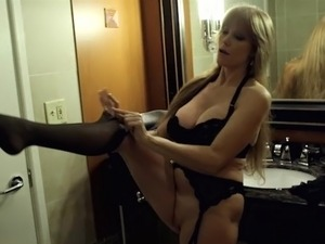 nylons up my pussy