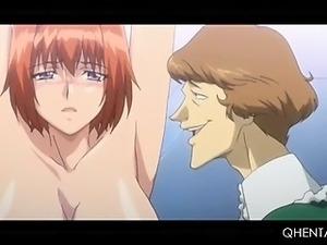 Tied up hentai sex prisoner gets wet twat hardcore tortured