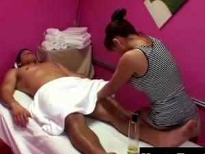 cfnm massage handjob video