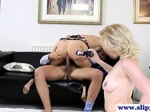 Young euro sluts pleasing old man