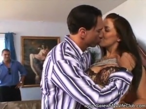 Hairy Bush Swinger Wife Fucked Good free