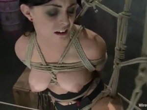 Nice slavery For the Kinky black haired Jackie Daniels
