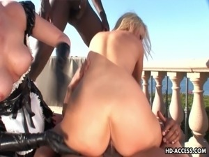 Interracial fucking in the ass free