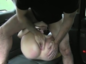 Amateur passenger banged by fake driver after giving a BJ