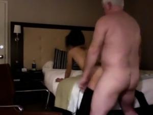 Grandpa Fucking a Slutty Little Teen