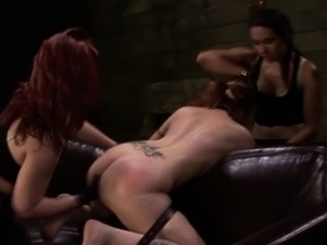 Bound slave squirting