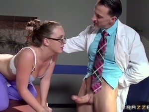doctor began eating my pussy