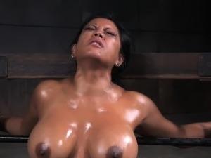 Natural tits hard rough sex