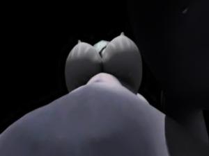 Futanari 3D reverse blowjob compilation hentai