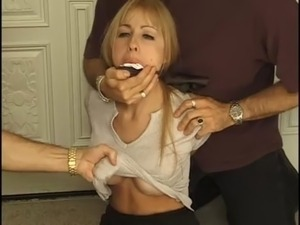 Teen gagging videos