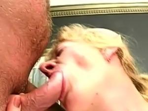 Hairy granny doggystyle fucked
