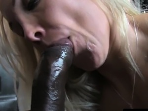 Gushing chick taxi driver pounded by bbc