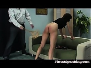 Vintage Fetish booty whipping