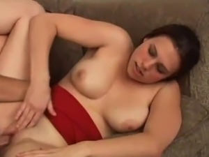 This whore collects a cumshot