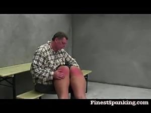 Bad girls Nicol and Kary get spanking