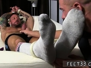 Gay porn foot fetish movies first time Dolf doesn't even let