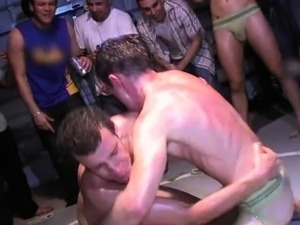 Straight student humiliated during hazing