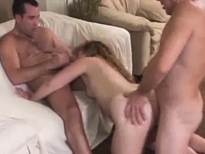 Lusty Plumper Gets A Facial In A 3some