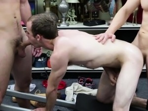 Straight trainer nailed deep  in the ass