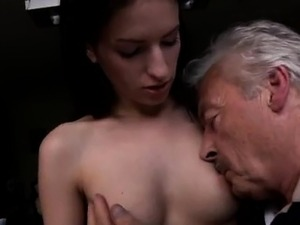Old fat granny anal first time Horny senior Bruce spots a ul