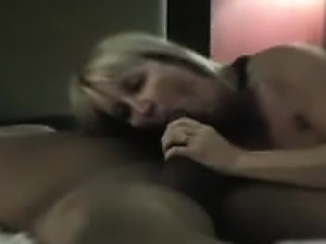 Wife cum husband cleans dripping vagina