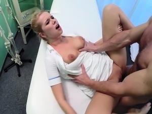 Doctor fucks milf nurse in hospital