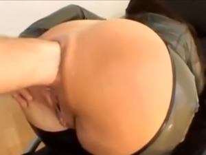 Angelina anal fisting