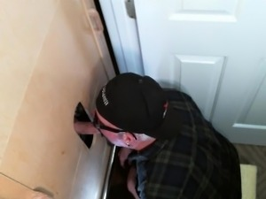 Thick Cock First Time Gloryhole Experience