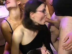 Slut drinks pee from bowl