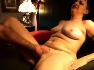 Fingering pussy of wife