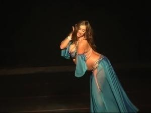 Curvy Muslim Arab Belly Dancer #2