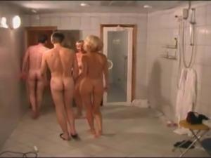 Big-natural-tits, Fun, Sauna