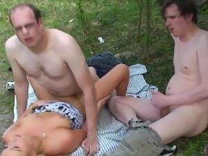 Slut fucked by Strangers
