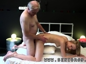 German old man Alice is horny, but Daniel wants to go to sle
