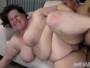 Chubby housewife has sexual desires that only a black stud can satisfy