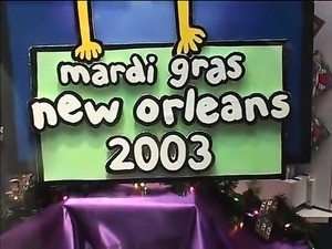 The celebration is living at Mardigras