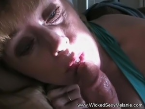 Melanie Loves To Suck Cock