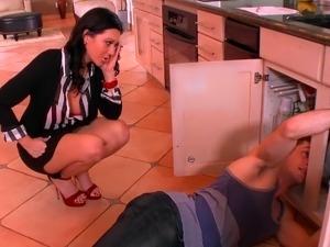 mature kitchen sex movies