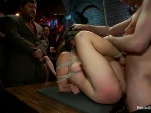public sexual orgasm and humiliation