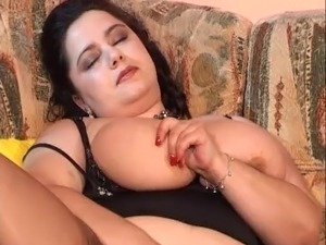 Cum on these giant tits