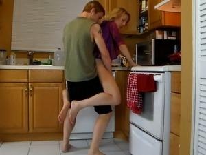 kitchen sex vids