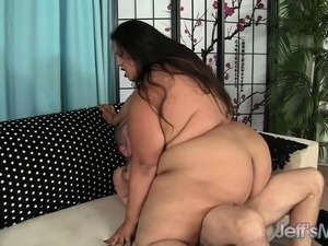 big fat ass black