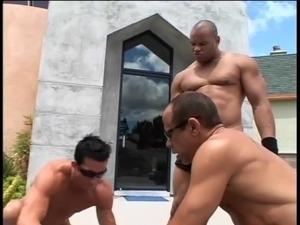 free interracial gangbangs video