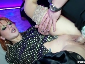Hard dicks need to be serviced by the whores at a club