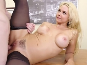 Looks like Sarah Vandella really likes the cowgirl cock riding
