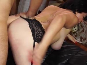 Scambisti Maturi - Italian mature BBW fucks with cum on tits