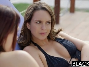BLACKED Friends Jade Nile and Chanel Preston Enjoy BBC Toget