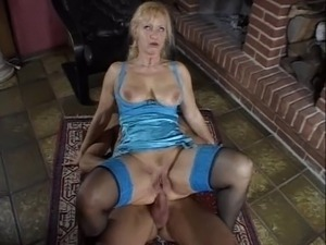 Mature german Blonde